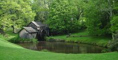 Mabrey Mill on the Blue Ridge Parkway