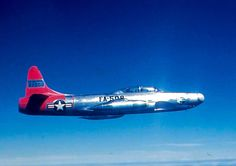 A Lockheed F-94A-5-LO Starfire from the 449th FIS.