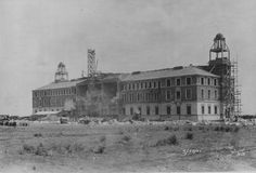 The Texas Tech Admin Building back in March 30, 1925