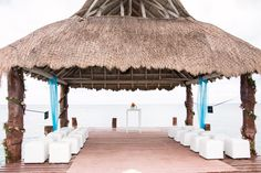 The Pier at #SecretsAura is a great place for your wedding ceremony
