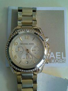 2faf502ae146 Michael Kors Blair Gold Tone Chronograph Women s Watch MK5166  MichaelKors   LuxuryDressStyles Luxury Dress