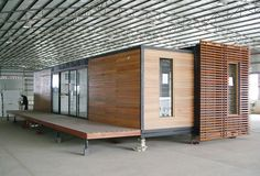 Folding, Expandable Container Homes, Coffee Shop