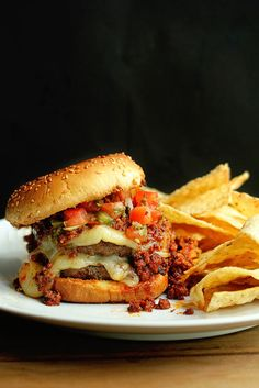 Latin Burger | Grandbaby Cakes  Omaha Steaks #ad