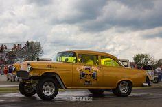 1955 Chevrolet gasser at the 2013 Meltdown Drags.