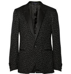 Lanvin Leopard Jacquard Blazer | MR PORTER