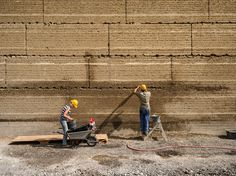 More than 30 percent of the global population uses earth as a construction material.