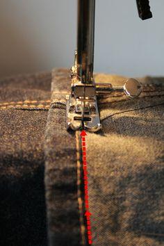 casa soleggiata: Jeans kürzen leicht gemacht