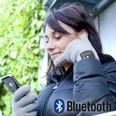 Bluetooth Gloves. Not only are these gloves comfy and warm (and totally touch-screen friendly), they will wireless sync with your smartphone, turning your hand into a phone. Just pull them on, press the 'answer' button and make the classic 'phone hand' shape. Please Note:  You don't actually need to be holding your phone to use these gloves,  just shown for illustrative purposes. Also-Will NOT actually turn your hand into a phone, that'd make you a cyborg… which would actually be pretty rad.