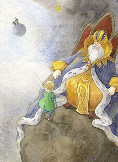 Ya-Ong Nero, illustrations from The Little Prince
