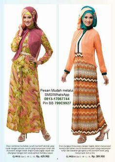 Model Baju Muslim Gamis Modern   Cantik Berbaju Muslim