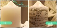 a lawyer's craft: DIY Candle Makeover