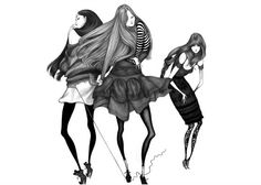 Laura Laine's Fashion Illustrations | KoiKoiKoi