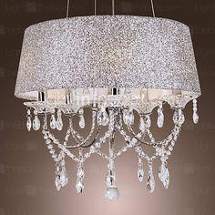Dazzling Modern 5 luces de la lámpara con el cristal 2016 – $215.99