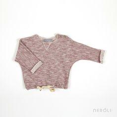 Chaqueta sudadera roja para bebé de 1 + In The Family. #baby #jacket #fashion #NeroliByNagore #SS14 #OneMoreInTheFamily