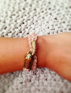 cute clasp and braided cord