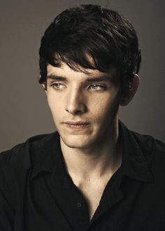 Colin Morgan. OMG why, he looks like he's about to cry in this pic i