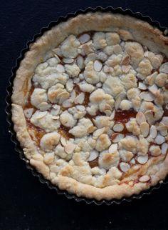 italian shortbread jam tart