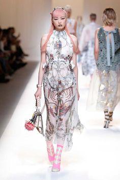 Image result for fendi sheer dress