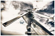 Aviation Photography, US Navy CH-60 Tail Rotor, Metallic Photographic Print