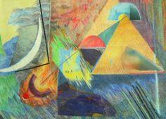Geheimnis einer Nacht in Ägypten - (c) Elisabeth Rütsche Picasso, Collage Kunst, Collagen, Painting, Art, Night, Painting Art, Paintings, Draw
