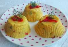 Fűszeres puliszka Polenta, Cake Recipes, Cheesecake, Muffin, Food And Drink, Pudding, Favorite Recipes, Meals, Vegan