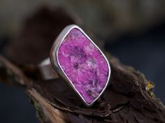 Pink Goddess Cobalto Calcite Ring. $227.00, via Etsy.