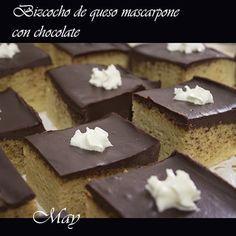 Pastelitos de queso mascarpone y chocolate