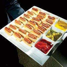 Mini hot dog, sirva-se! <3 #Wedding