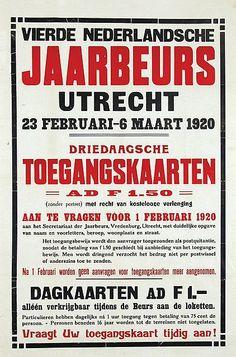 Vierde Nederlandsche Jaarbeurs Utrecht 1920