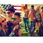 Dmitriy Tanner, Matt Woodhouse, Paolo Anchisi & Ton Heukels by Mert & Marcus for Dsquared² Spring/Summer 2012 Campaign