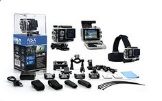 Christmas 2015 List~ ASX ActionPro-X - 1080P Full HD Waterproof Sports Camera - Wifi/HDMI - 2 Inch LCD Screen - 12 MP 170 Degree Super Wide Angle Lens - Headstrap - 20 Piece Accessories Kit Included Audiosnax www.amazon.com/...