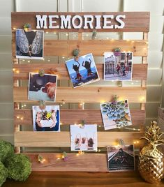 Get 20 ways to show off your photos in an unconvential and crafty way. Links to tutorials and loads of funs ideas. Supplies at Craft Warehouse in OR, WA and ID. Picture Boards, Picture On Wood, Picture Frames, Frame Crafts, Diy Frame, Diy Photo, Photo Craft, Photo Ideas, Photo String