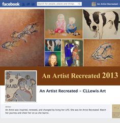 Custom Art of animals, cave paintings, story book portraits, still life, mosaics, landscapes, textured art,art history timeline, any challenge you hand me.  Message me at An Artist Recreated - CLLewis Art, on Facebook.
