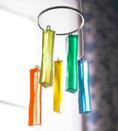 Suncatcher - DIY with resin and a water bottle ice cube tray