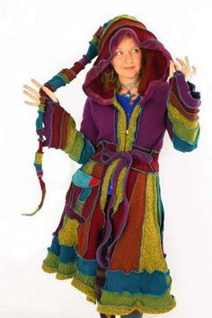 Image result for how to make a gypsy coat