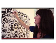 See how Liz Pichon creates the Tom Gates doodles!