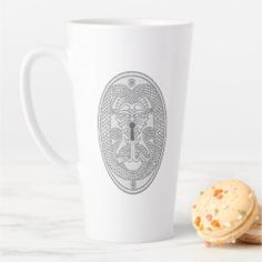Latte Mug DRAGON KEYHOLE PLATE white/white Latte Mugs, Detail Shop, Holiday Photo Cards, Business Supplies, White White, Nursery Wall Art, Art Pieces, Dragon, Plates