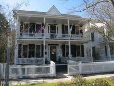 big,old, white house with blue shutters<3 my dream home ! | me