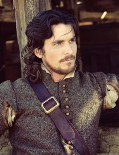 Costume Drama Characters: John Rolfe portrayed by Christian Bale