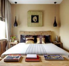 Piccola camera nelle tinte del giallo - Il giallo è perfetto per una piccola camera da letto.