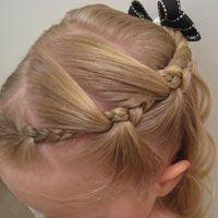 hairstyle toddler girl - Buscar con Google