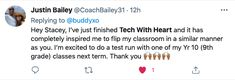 Justin Bailey, Im Excited, Manners, Inspire Me, Classroom, Tech, Heart, Class Room, Technology