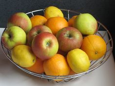 """pic4 fruit basket """"Symbolic"""" Feng Shui: How to Easily Create More Luck, Prosperity and Wealth in Your Home"""