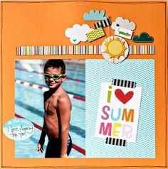 summer layout by Shannon Tidwell (bella blvd blog)