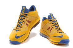 0187543ee1a8 Cheap Air Max Lebron 10 Yellow Navy Blue Cheap Nike Air Max