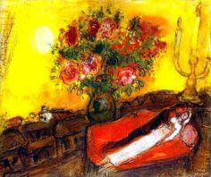Marc Chagall. Le Ciel embrase.