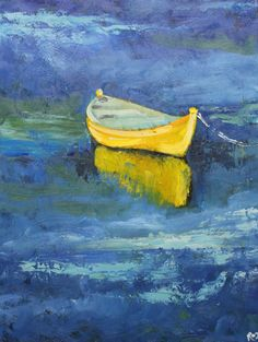 Print Boat 18 18x24 inch print of oil painting by Roz
