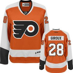 Claude Giroux Women s Jersey  Reebok  28 Orange Philadelphia Flyers Jersey  Football Gear 521b5dd68