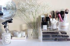MUJI Acrylic Beauty Storage - 3 Drawers for Lipsticks http://www.magi-mania.de/produkt/muji-acryl-beauty-aufbewahrung-mit-3-schubladen-l/