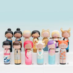 We have joined forces with @Sketchinc one of our favourite female artists. These zodiac Kokeshi dolls represent all the wonderful women across the globe and honour the stars in your life. #PANDORAxSKETCHINC